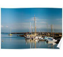 Boats (Île de Noirmoutiers - Vendée, France) Poster