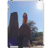 Mufasa Statue Art Of Animation Resort- Disney World iPad Case/Skin