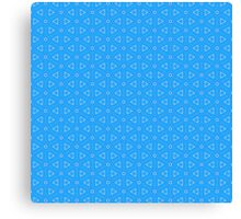 Triangles and Circles Canvas Print