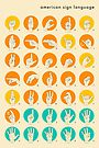 AMERICAN SIGN LANGUAGE HAND ALPHABET by JazzberryBlue