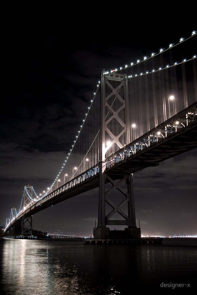Oakland Bay Bridge by designer-x
