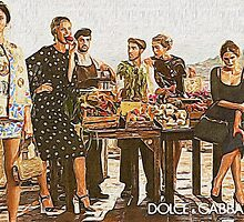 Dolce and Gabbana AD by rodalicious1088