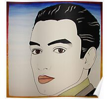 Self Portrait Nagel Style Poster