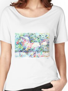 HORSE PAINTING.5 Women's Relaxed Fit T-Shirt