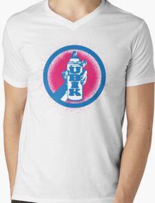 UBIK Mens V-Neck T-Shirt