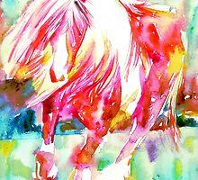 RED HORSE RUNNING by lautir