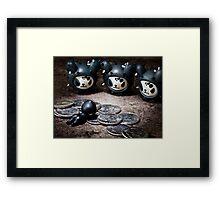 Judas' Remorse Framed Print