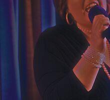 Annette Raison - blue curtain - ms - 1/2 by tmac