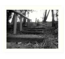 stair way to heaven Art Print