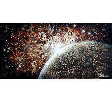 Brown Nebula Photographic Print