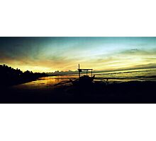 Sunrise at Sariaya Quezon Photographic Print