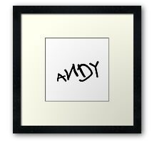 Andy - Toy Story Framed Print