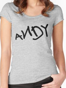 Andy - Toy Story Women's Fitted Scoop T-Shirt