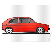 Mk1 - Red Poster