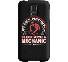Get Good Penetration Sleep With A Mechanic - Funny Tshirts Samsung Galaxy Case/Skin