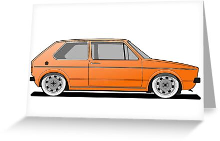 Mk1 - Orange by Vee Dub Guy