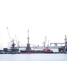 port harbor by alexey sorochan