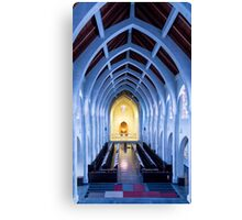 Arches and Altar Canvas Print