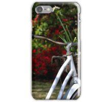 Delivering Spring Flowers iPhone Case/Skin