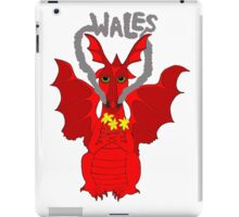 Welsh Dragon with daffodils iPad Case/Skin