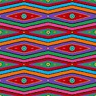 Retro Art - Vivid Colour #8 by sekodesigns