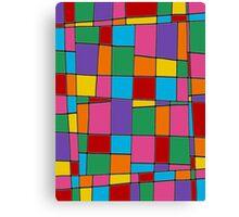 Retro Art - Vivid Colour #11 Canvas Print