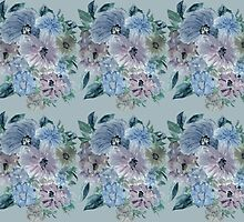 Mountain Flowers 4 by Thecla Correya