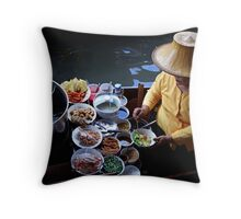 Food To Go Throw Pillow