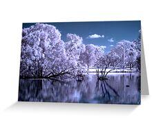 Magical Lake Greeting Card