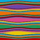 Retro Art - Vivid Colour #17 by sekodesigns