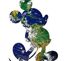 Earth Mickey by taycobb