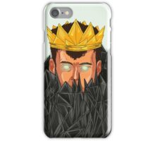 The King is Under Control  iPhone Case/Skin