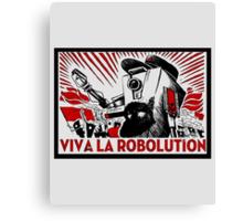 Borderland - Clap Trap Viva la Robolution Canvas Print