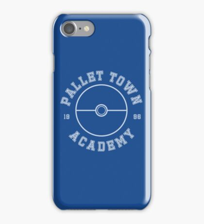 Pokemon - Pallet Town Academy iPhone Case/Skin
