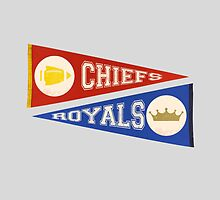 KC PENNANTS by fancitytees