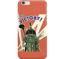 Doctor Who - Daleks to Victory iPhone Case/Skin