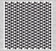 Animal Pattern -Geometric Black and White One Piece - Long Sleeve