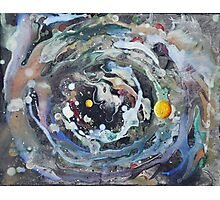 Psychedelic Space 1 Photographic Print