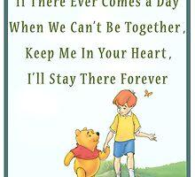 Winnie the Pooh - Firendship Quote  by TylerMellark