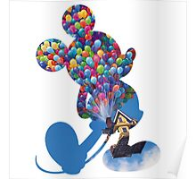 Up Mickey Poster