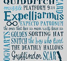 Harry Potter - All Books Quotes  by TylerMellark