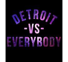 Detroit VS Everybody GALAXY Photographic Print