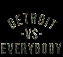 Detroit VS Everybody Camo by owned
