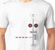 Railway Crossing Unisex T-Shirt