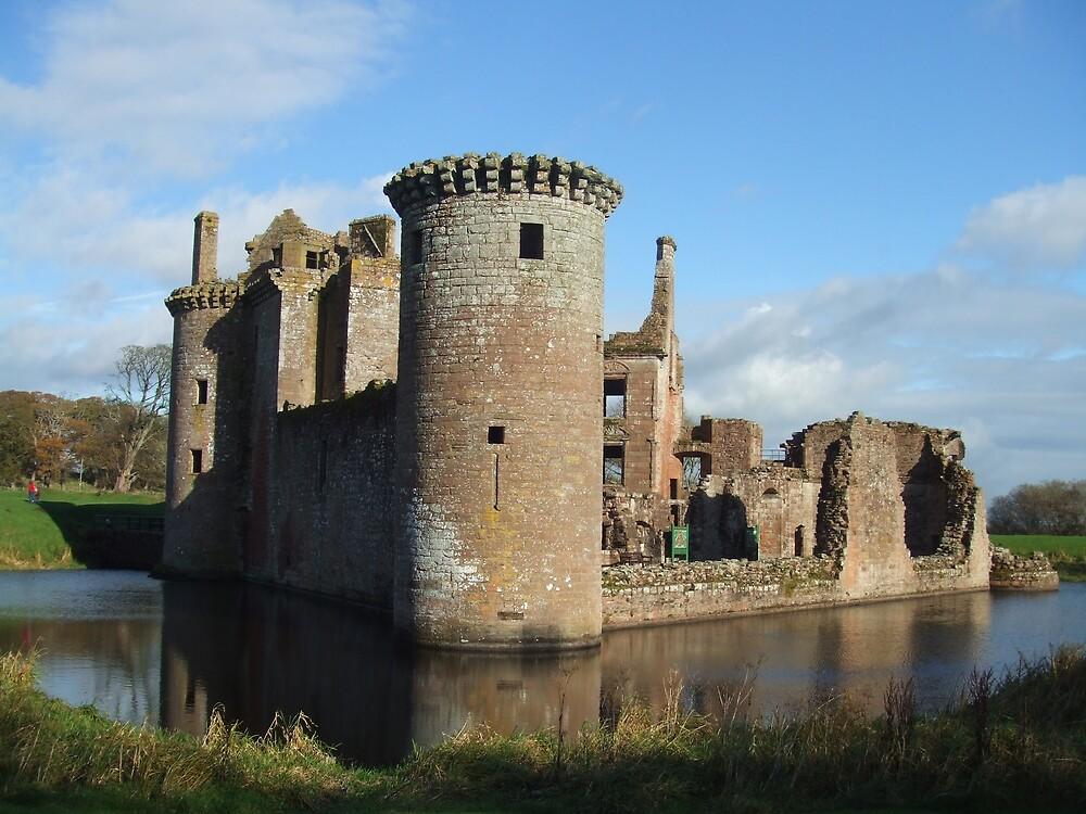 Caerlaverock Castle by Debz Kirk