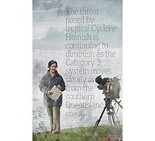 The Reporter Photographic Print