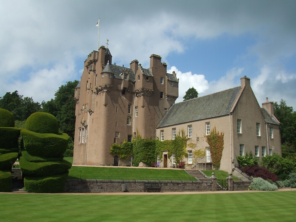 Crathes Castle by Debz Kirk