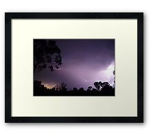 Lightning (3) Framed Print