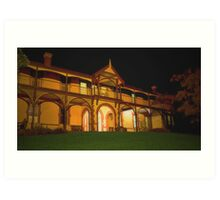 Whitehall House, Sorrento, Victoria Art Print