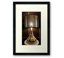 Included Table Lamp Framed Print